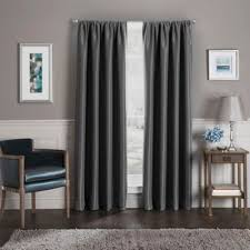 Charcoal Grey Blackout Curtains Buy Blackout Curtains From Bed Bath U0026 Beyond