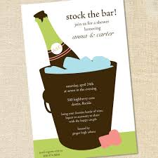 stock the bar shower stock the bar party invitations afoodaffair me