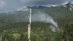 Wildfire Bc Whistler by Air Tankers Fighting Fire In Whistler Youtube