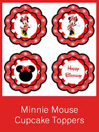 minnie mouse party creative printables