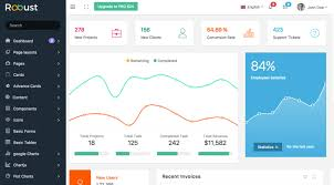 pixinvent robust free bootstrap admin template packagist