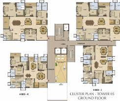 Cluster House Plans Prestige High Fields In Nanakramguda Hyderabad Price Location