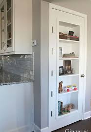 Storage Bookcase With Doors Diy Bookshelf Door Hometalk