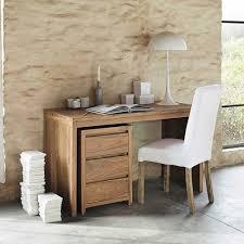 bureau 130 cm bureau en bois de sheesham massif l 130 cm sheesham palisandru