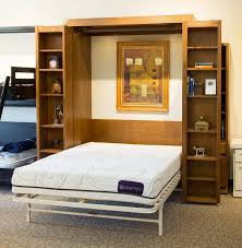 murphy bed bookcase or use a murphy bed table combination in a