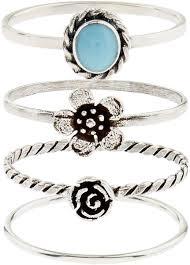 delmar sterling silver round green accessorize sterling silver rings u2013 fancut