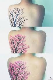 back cherry blossom tree