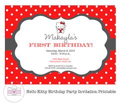 marvelous hello kitty handmade invitations following luxurious
