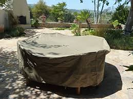 Patio Table Covers Square Patio Set Cover 104 Dia Fits Square Oval Or