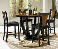 glass top dining table on round with fancy small set surripui net