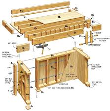 Woodworking Bench Plans by 567 Best Etablis Images On Pinterest Workbenches Workshop And