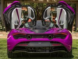 mclaren showcases purple 720s
