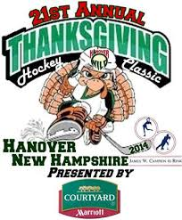 thanksgiving hockey classic at hanover nh union arena