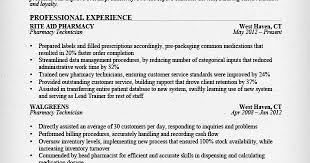 Pharmacy Tech Sample Resume by Pharmacy Technician Sample Resume Sample Resumes