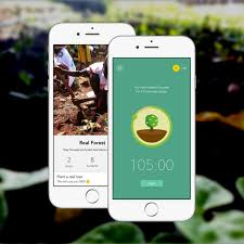 forest app sponsors trees for the future