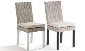chaise tress e chaise darius rotin tressé groupon shopping