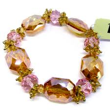 pink beads bracelet images 1928 jewelry company stretch bracelet us made made in the usa jpg
