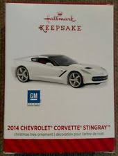 hallmark corvette ornaments ebay