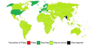 Palau Map Emerge Film Solutions