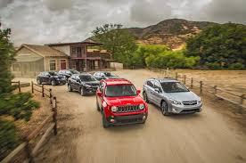 jeep chevrolet 2015 2016 chevrolet trax vs jeep renegade vs nissan juke vs subaru
