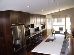 one wall kitchen with island designs kitchen design amazing awesome one wall kitchen with island