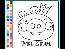 angry birds coloring pages coloring pages for kids youtube