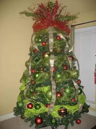 christmas tree ribbon christmas tree ribbon decoration ideas ne wall
