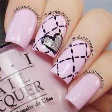 elegant heart nail art designs u0026 ideas for valentine u0027s day 2014