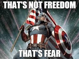 Freedom Meme - not freedom imgflip