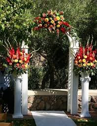 Wedding Arches Decorated With Tulle 9 Best Outdoor Wedding Decorating Ideas Images On Pinterest