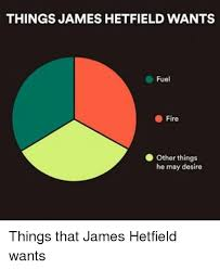 James Hetfield Meme - things james hetfield wants fuel fire other things he may desire