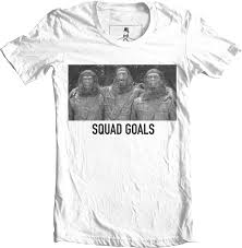 planet clothing planet of the apes squad goals t shirt xqste clothing