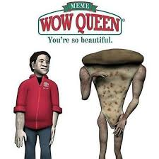 Memes Wow - papa john s wow queen you re so beautiful know your meme