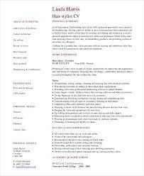 13 useful materials for junior hair stylist hair stylist resume