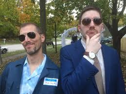 Blue Man Halloween Costume Chris Stuckmann Twitter