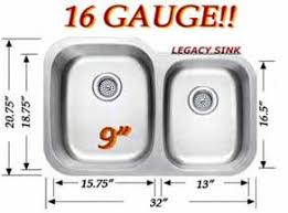 16 Gauge Kitchen Sink by Stainless Steel Kitchen Undermount Sink Wholesale Distributer