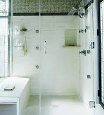 shower head styles glass shower enclosures black tiles and wall
