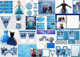 frozen free printable mask parties free