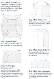 Folding Bed Sheets How To Fold A Fitted Sheet Easy Tips Diagram Clean House And