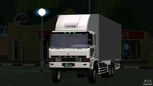 mobil mitsubishi fuso mitsubishi fuso for gta san andreas