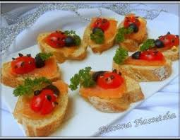 canapes aperitif recette noel repas fête canapes truite saumon fumée apéritif