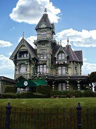victorian style mansions the carson mansion in eureka ca one of the most famous victorian