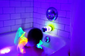 how much are black lights baby blakely for the boys glow bath