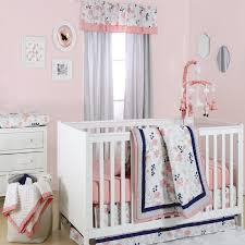 The Peanut Shell Floral Dot 4 Piece Crib Bedding Set U0026 Reviews