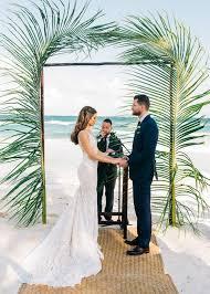 Wedding Arches And Arbors Beach Wedding Arches Ceremony Arch Ideas Trendy Bride Magazine