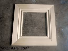 diy crown moulding picture frames lowe u0027s 50 and change project