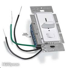 how to install a dimmer light switch family handyman