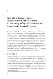 5 of the bureau of safety and environmental enforcement in