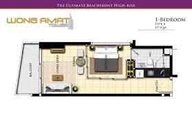 one bedroom condo high class beachfront 1 bedroom condo wong amat tower naklua