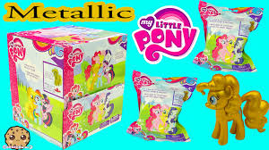 My Little Pony Blind Packs Metallic Mlp Gold Pinkie Pie Surprise My Little Pony Blind Bag Box
